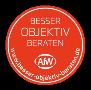 Besser objektiv beraten: Verbandsmitgliedschaft AfW
