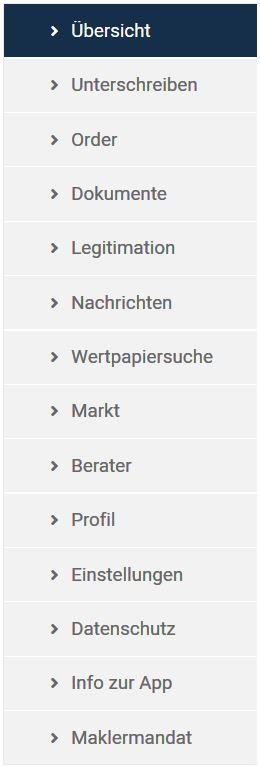 FinanceAPP: Anwendungsübersicht